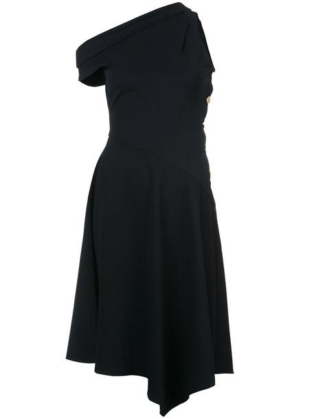 DEREK LAM 10 CROSBY dress midi dress women midi black