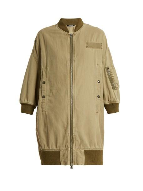 jacket cotton khaki