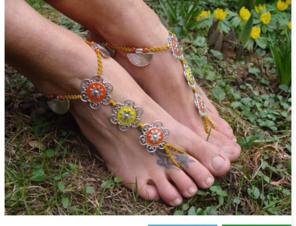 jewels foot jewelry