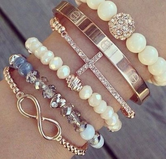 infinity jewels bracelets bracelet cross
