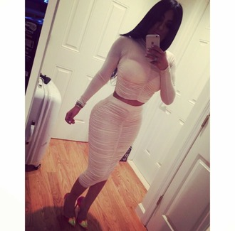 dress two  piece clothes two-piece two pieces dres top skirt
