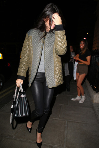 jacket kendall jenner pants pumps