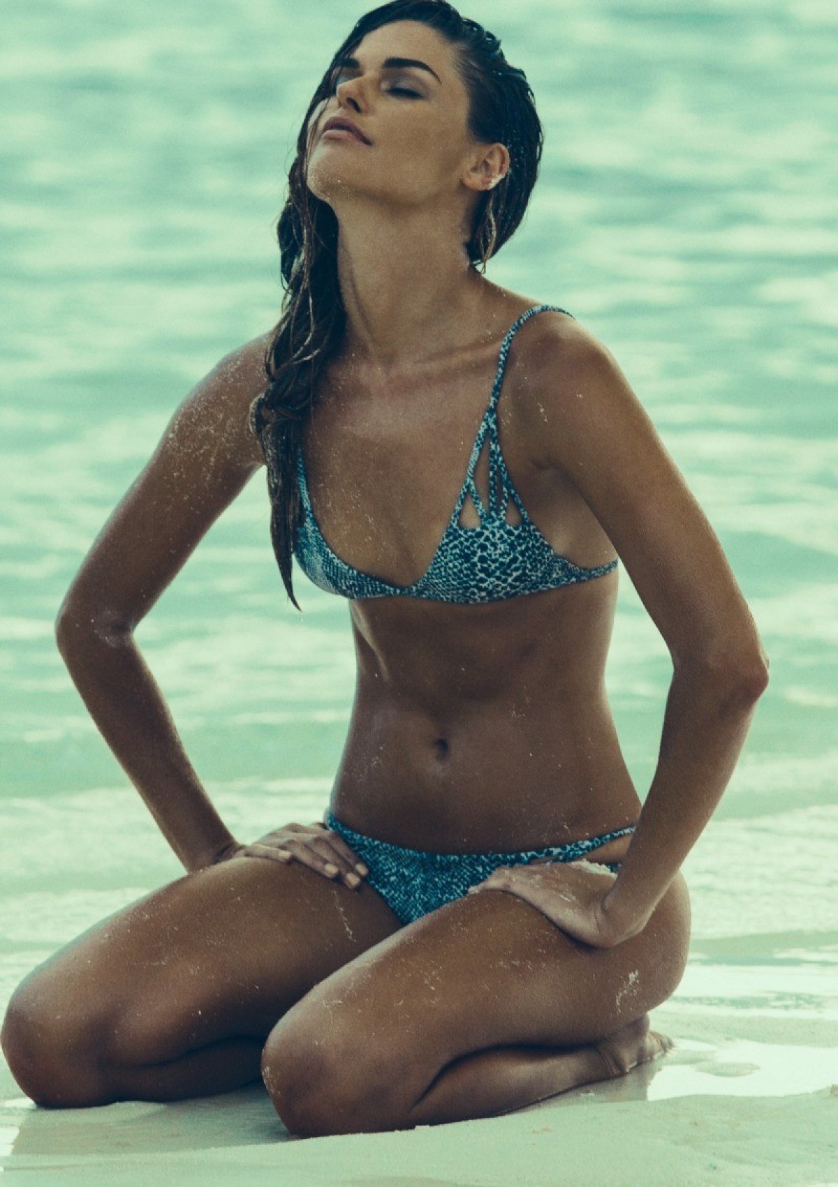 2015 acacia swimwear snake santorini top & maui bottom