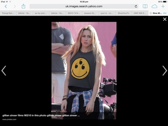 top gillian zinser 90210 tank top celebrity style