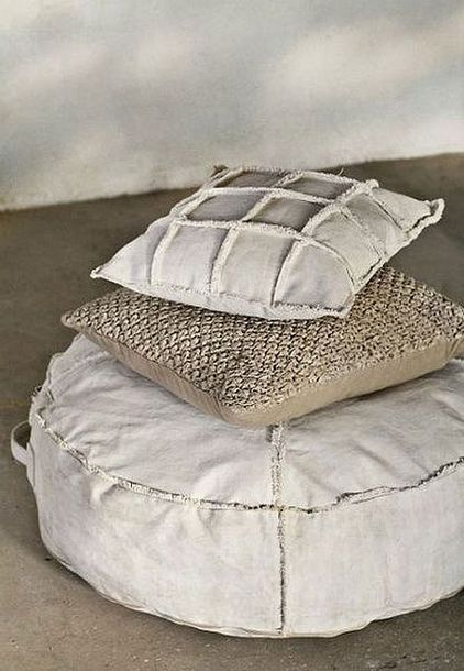 home accessory comfy pillow geometric floor pillows