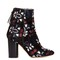 Guya embroidered suede ankle boots