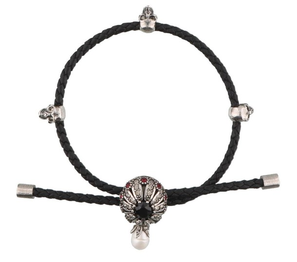 friendship bracelet black jewels