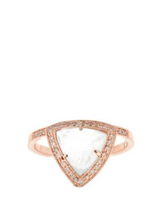 rose ring gold ring gold rose gold jewels