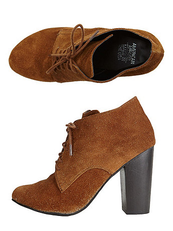 High Heel Desert Boot | American Apparel