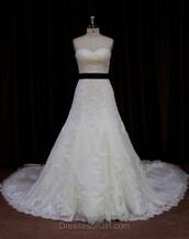 dress,long,long dress,floor length dress,sweet,sweetheart dress,strapless,strapless dress,pretty,wedding dress,bride,wedding,wedding clothes,white,white dress,lace dress,gown