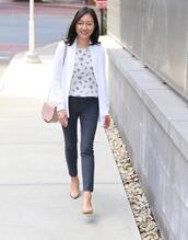 whatjesswore,blogger,dress,top,jacket,jeans,blouse,pants,cardigan,white cardigan,nude heels,pumps,fall outfits