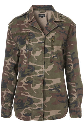 Topshop - Camo Army Jacket customer reviews - product reviews - read top consumer ratings