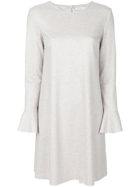 HARRIS WHARF LONDON dress sweater dress women nude wool