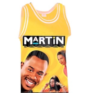 Martin throwback basketball jersey · gvmbino co. · online store powered by storenvy