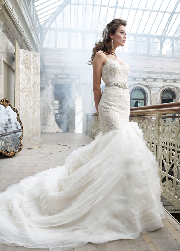 Bridal Gowns, Wedding Dresses by Lazaro - Style LZ3201