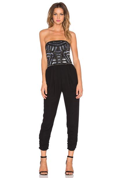 jumpsuit embellished black