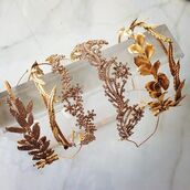 hair accessory,crown,gold,diamonds,rhinestones,tiara,hipster wedding,boho wedding,beach wedding,rustic wedding,gold jewelry,hairstyles,wedding,wedding accessories,wedding hairstyles,head jewels,flower headband,headband,party,birthday,jennifer behr
