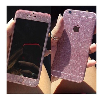 phone cover gold colorful glitter iphone cover iphone 6 case rose