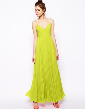 ASOS | ASOS Cami Pleated Maxi Dress at ASOS