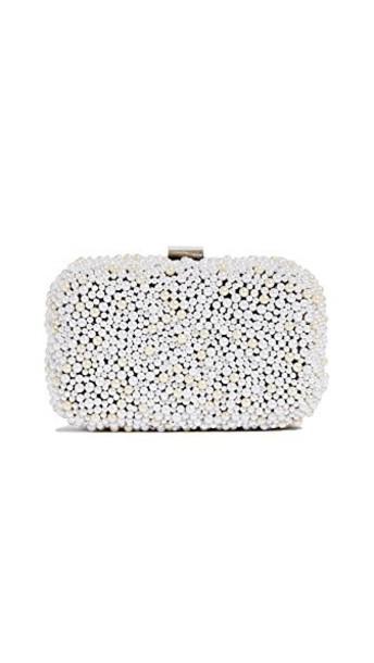 Santi pearl clutch bag