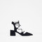 Lace - up pointed high heel shoes-view all-shoes-woman | zara france