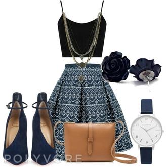 skirt tribal pattern