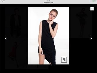 dress zebra fashion style black dress little black dress jumpsuit