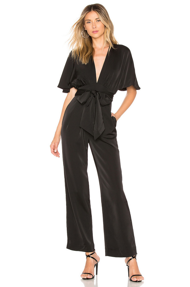 Chrissy Teigen x REVOLVE Elaine Jumpsuit in black