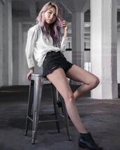 atsuna matsui,atsuna matsui »,blogger,shorts,top