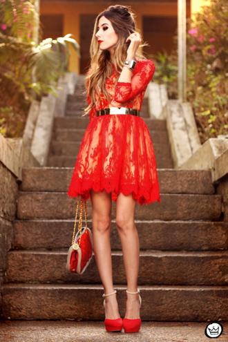 fashion coolture dress bag jewels belt shoes