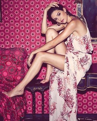 dress maxi dress summer dress kendall jenner fashion model