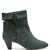 Dyna zigzag-embellished suede ankle boots