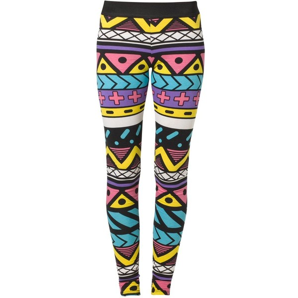 Fairground AZIBO Leggings - Polyvore
