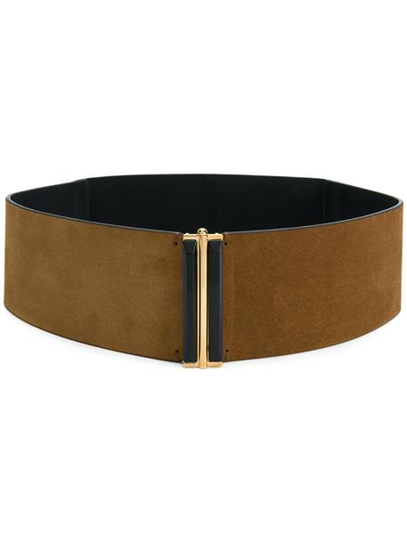 belt waist belt brown