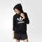 Adidas trefoil logo hoodie - black | adidas uk
