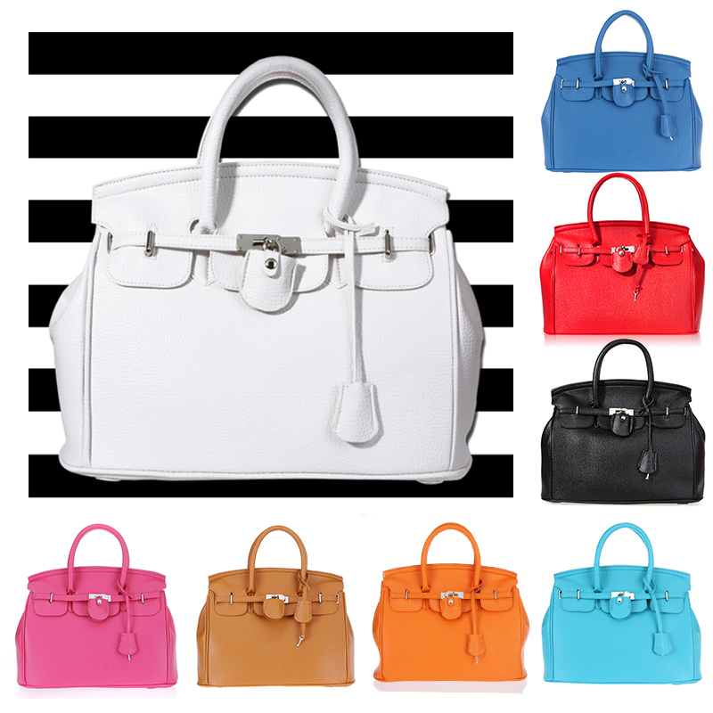 Unbeatable At $X.99] Hot Celebrity Faux Leather Tote PU Hand Bags ...