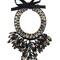 Night market chunky necklace, women's, black