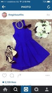 dress,royal blue dress,party dress,date outfit,mini dress