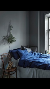 home accessory,blue,bedding,tumblr,bedroom,tumblr bedroom,indigo bedspread,teen bedrooms