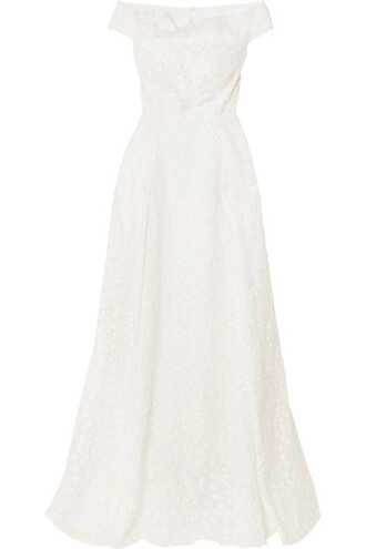 gown white dress