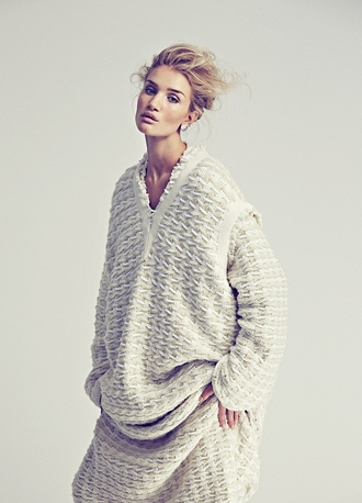cardigan sweater vest fall outfits fall sweater winter outfits winter sweater rosie huntington-whiteley