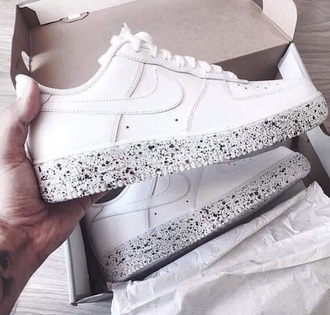 shoes nike white shorts black oreo clean white shoes custom fitness nike air force 1 beautiful nike air force 1's cookies and cream m