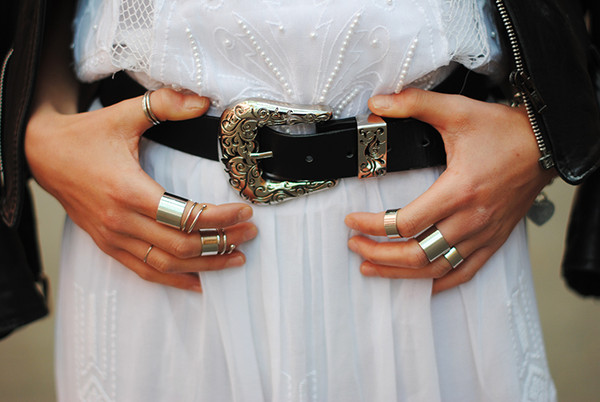 belt fashion beautiful trendy hipster classic ring accessories dress jacket leather amazing silver black white boho hippie jewels