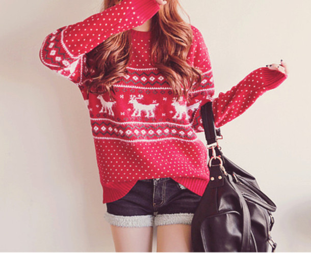 Sweater: winter sweater, christmas sweater, oversized cardigan ...