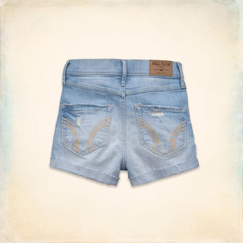 Hollister Natural Waist Short-Shorts on Wanelo
