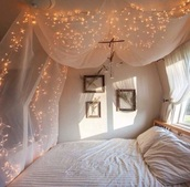 home accessory,bedroom,bedding,home decor,lighting,beach house,fairy lights,beds,cover,boho,cute,tumblr,lights,hipster,instagram