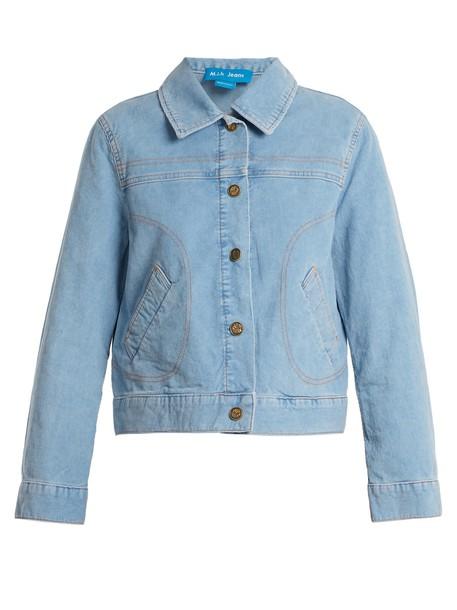 M.i.h Jeans jacket cotton light blue light blue