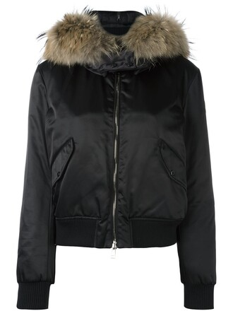 jacket fur black
