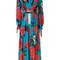 Msgm - floral print dress - women - polyester - 38, polyester