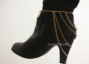 New Women Heel Shoe Boots Ankle Chain Body Necklace Anklet Bracelet Foot Jewelry | eBay